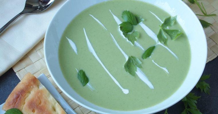 Krem juha od krumpira i  ljupčaca