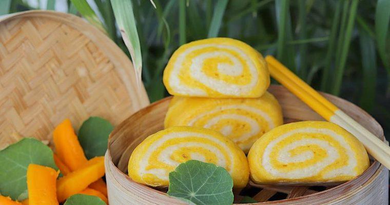 Kineska mantou peciva s bučom