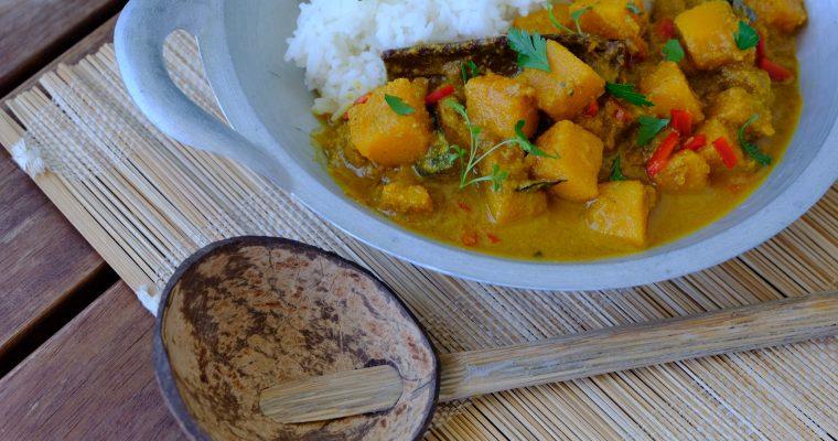Šrilankanski curry s bučom