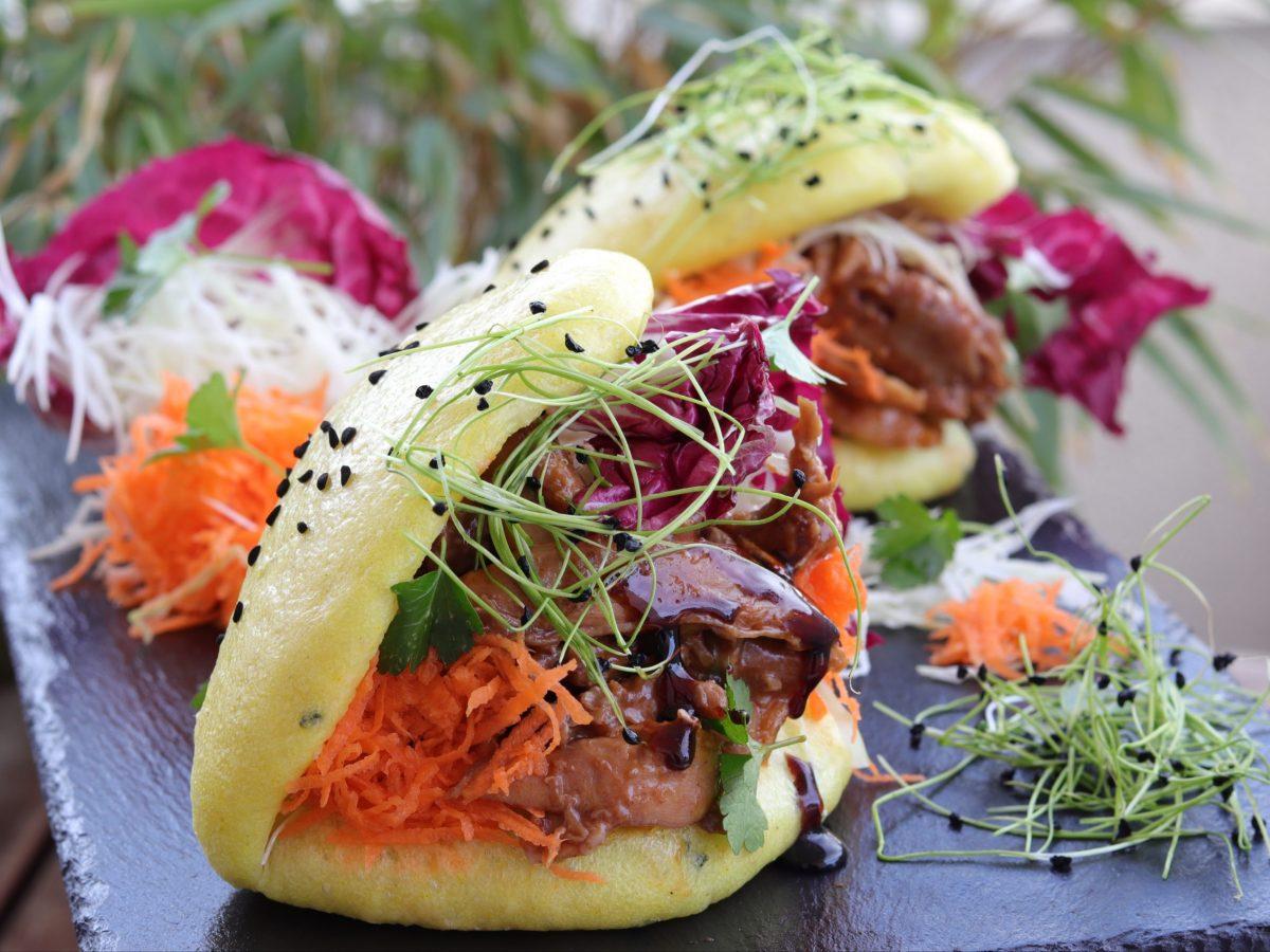 Piletina u bao pecivima