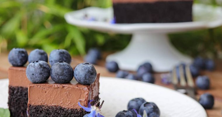 Sočni čokoladni kolač