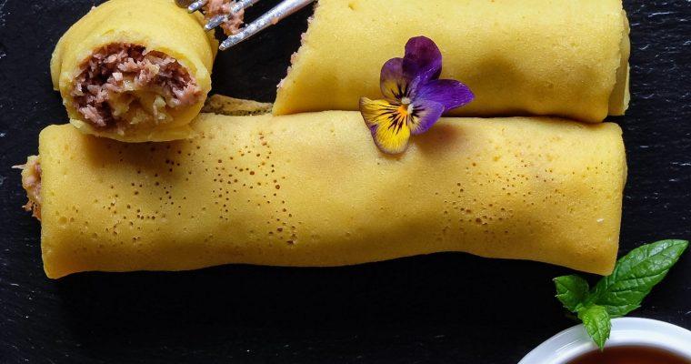 Šrilankanske palačinke s kurkumom i kokosom
