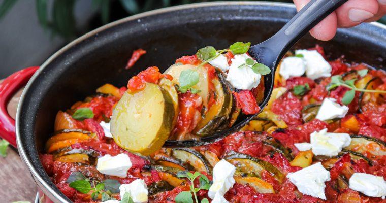 Briam, zapečeno povrće na grčki